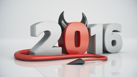 red devil: Happy new year 2016 red devil