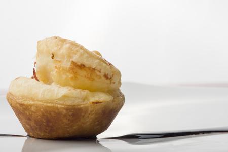 pecorino cheese savoury pie with aromatic vinegar