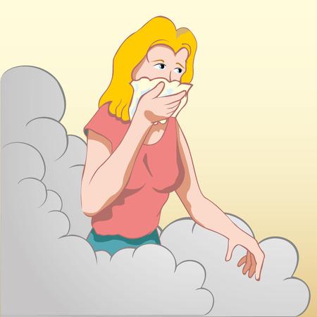 inhalacion: Protecci�n individual de la nariz y la boca para no inhalar los gases t�xicos causados ??por un accidente de trabajo.
