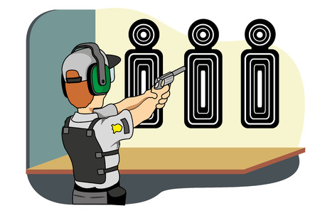institutional: Professional safety training shooting, ideal for training material and institutional