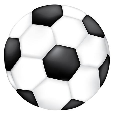 Objeto ilustración artículos deportivos balón de fútbol. Ideal para catálogos, catálogos informativos y deportivos.