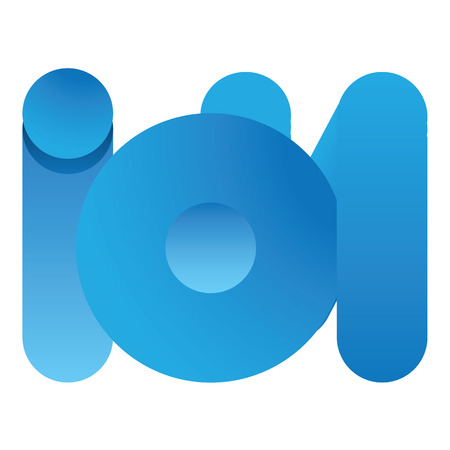 circle abstract: Icon symbol load ion word. Ideal for visual communication, informative and institutional materials