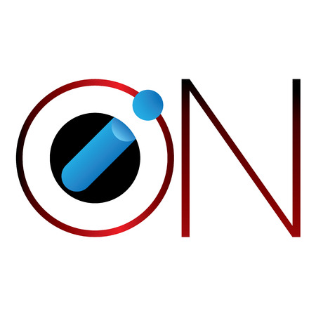 institutional: Icon symbol load ion word. Ideal for visual communication, informative and institutional materials