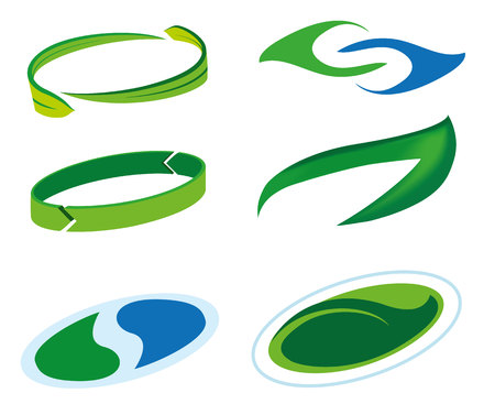 crocket: Icon or symbol of sustainability, green leaf and rock in water drop. Ideal for informational and institutional related ecology and environment