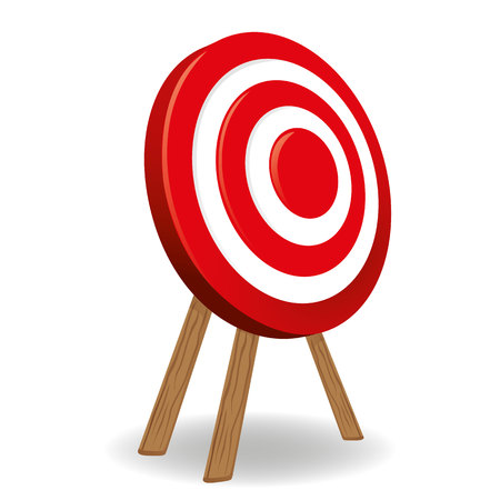 informational: Target object supported, shooting sport target next. Ideal for informational and institutional related sanitation and care