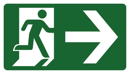 panneau, laissez, entrer ou passer par le droit de la porte. Idéal pour visuelle