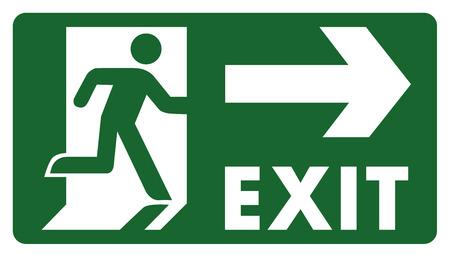 panneau, laissez, entrer ou passer par le droit de la porte. Idéal pour visuelle Vecteurs
