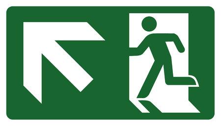 panneau, laissez, entrer ou passer à travers la porte jusqu'à la gauche. Idéal pour la communication visuelle et matériaux institutionnels