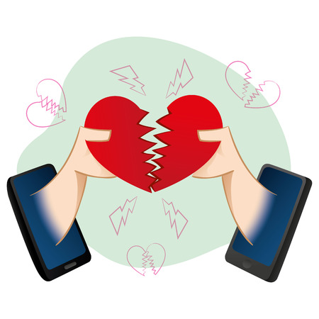 speed dating: Mobile people in a loving virtual separation