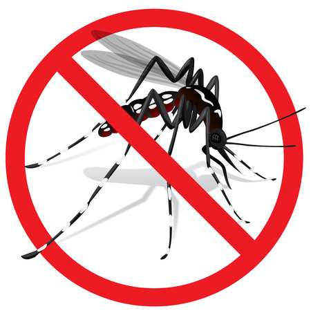 yellow fever: Aedes Aegypti Mosquito stilt prohibited