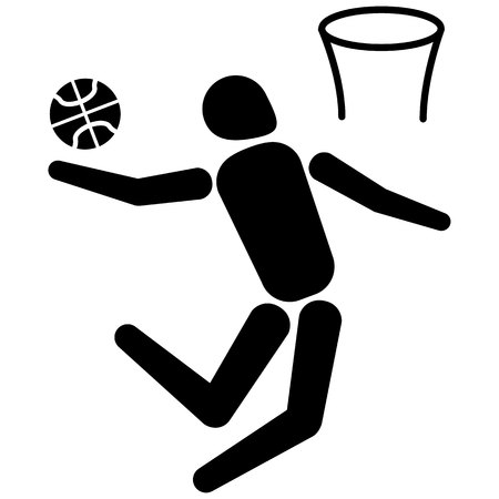 rebound: This is sport, people playing basketball, various modalities. Ideal for educational materials, sports and institutional