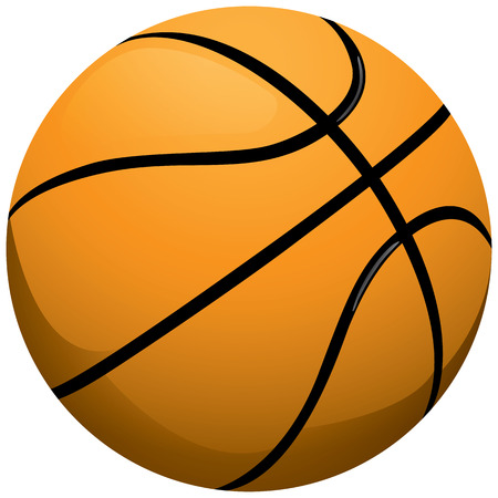 rebound: This is sport, people playing basketball. Ideal for educational materials, sports and institutional Illustration