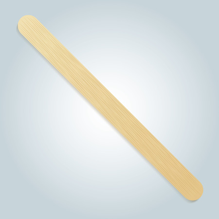 informational: Illustration of a wooden toothpick. Ideal for catalogs, informational and institutional materials