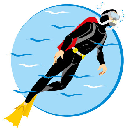symbols: Person Scuba diving tourism