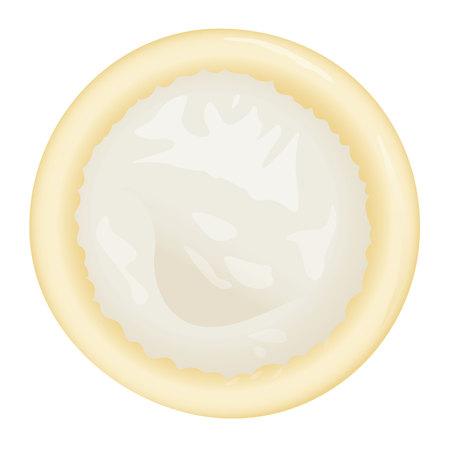 Este es el condón masculino, diseño ideal para campañas de educación sexual.