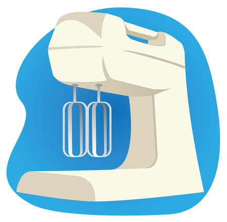 Illustration representing object household appliance appliance mixer
