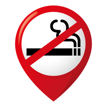 No to cigarette icon.