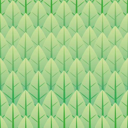 Illustration represents a nature background pattern, leaves or trees. ideal for institutional and educational material Ilustrace