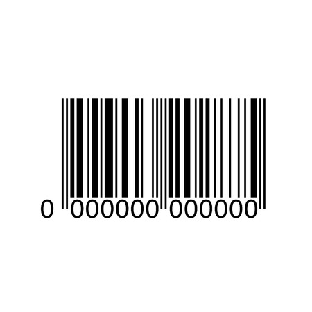 Barcode icon illustration. Ideal for promotional and marketing materials