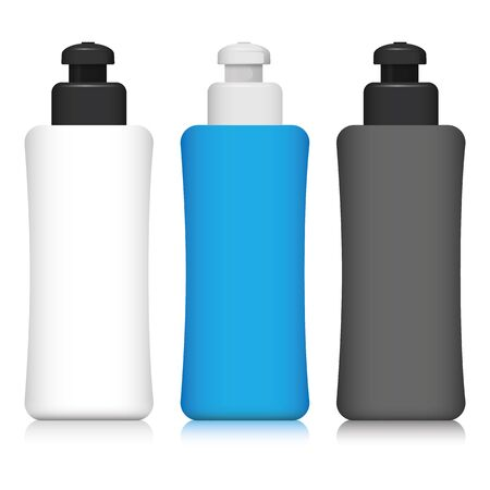 Miscellaneous Illustration of squeeze bottle, packaging for water, juice and other liquids. Ideal for giveaways and promotional materials catalog