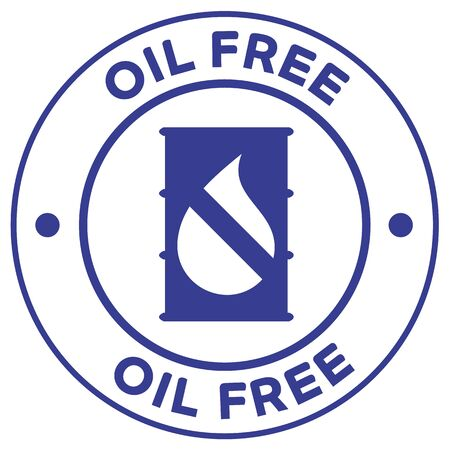 Oil free icon illustration. Ideal for catalogs, cosmetics and institutional newsletters
