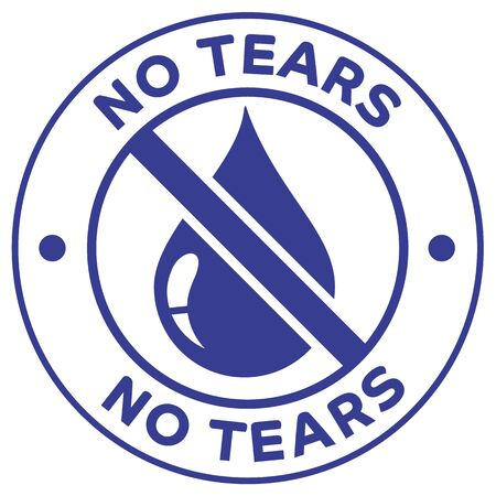 Icon illustration, not tears. Ideal for catalogs, cosmetics and institutional newsletters