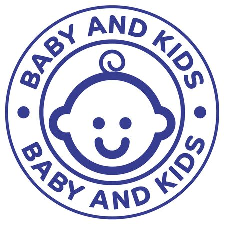Illustration of icon, baby, kids, childish. Ideal for catalogs, cosmetics and institutional newsletters
