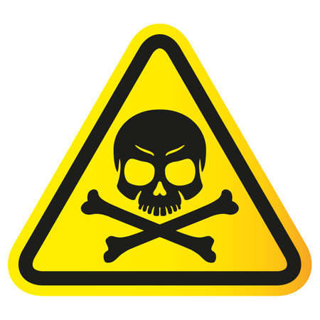 Safety equipment, danger plane, caution icon. Ideal for informative and educational material Ilustração
