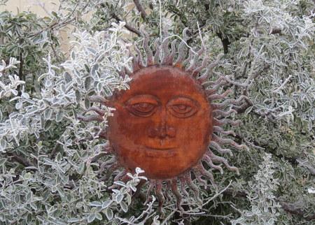 frosty sun