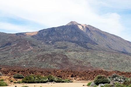 Pico del Teide Vulcano at El Teide national park in Tenerife (Spain) photo