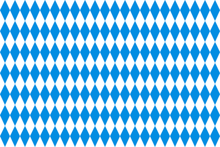 checked background: Oktoberfest background with blue checked repeatable rhombus
