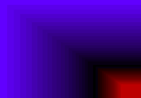 quadratic: blue red quadratic pattern in color geometric Stock Photo