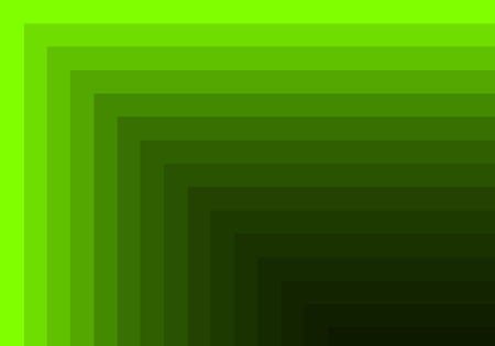 quadratic: green quadratic pattern in color geometric Stock Photo