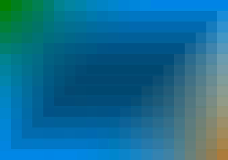 quadratic: blue quadratic pattern in color geometric Stock Photo