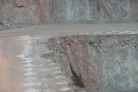 quarry. Mining industry Stock Photo