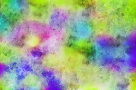 Watercolor painting background full frame. aquarelle art.