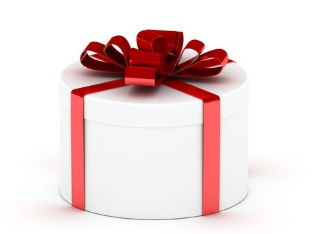 Colour boxes with gifts and tapes photo
