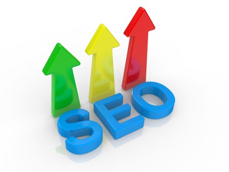 text tool: SEO - Search Engine symbol on a white background