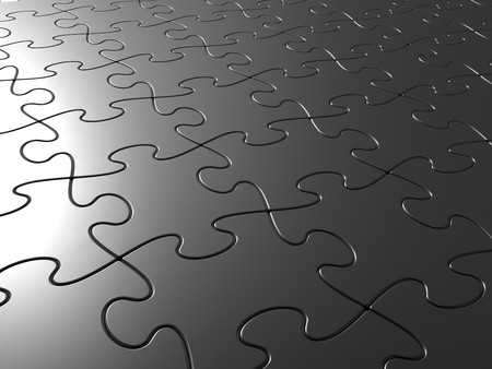 Pattern collected from a considerable quantity of puzzles Stock Photo - 7669721