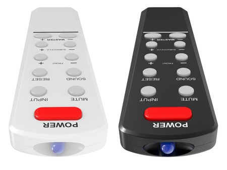 Remote control isolated on a white background Stock Photo - 7787989