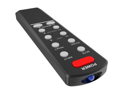 Remote control isolated on a white background Stock Photo - 7787994