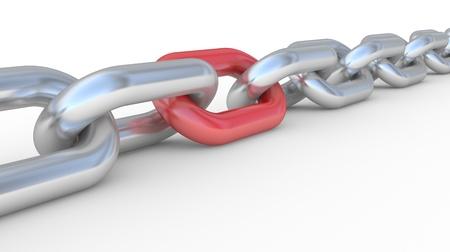 la union hace la fuerza: la cadena de 3D, el concepto de trabajo en equipo de conexión