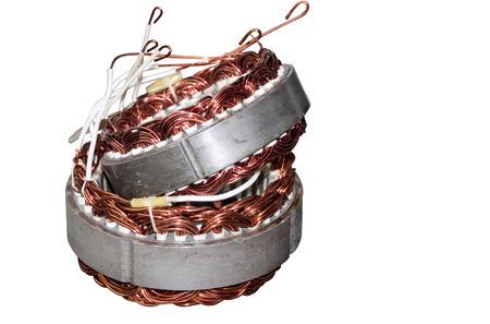 alternator: Two hand rewound reconditioned motor vehicle alternator stators