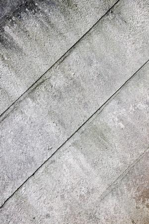 precast: gray grimy panels of old precast wall