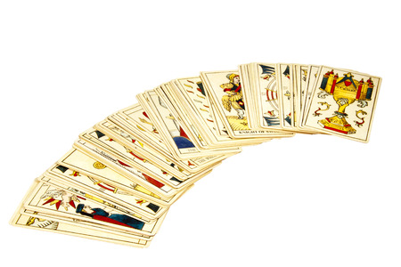deck of tarot cards for fortune telling