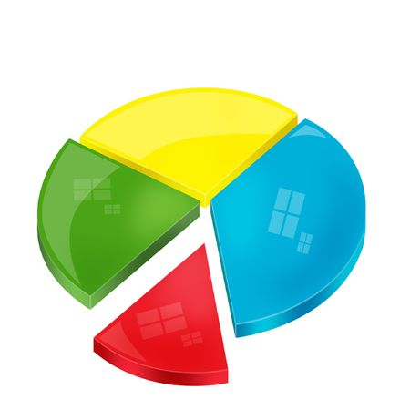 pie chart Stock Photo - 6033618