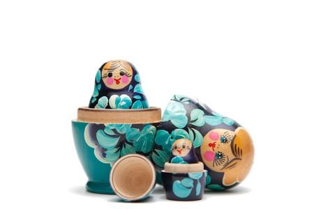 poup�e: imbrication russe poup�es ouverte de la moiti� (babushka)