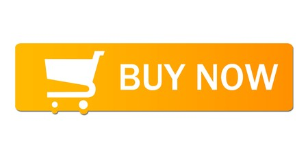 Buy now button with a shopping cart on white background. Stock Photo - 8183799