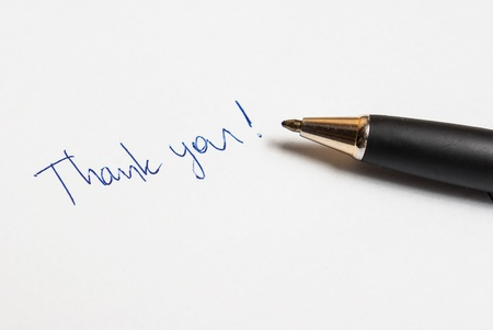 the words thank you concepts of appreciation and thankfulness stock photo picture and royalty free image image 14568687