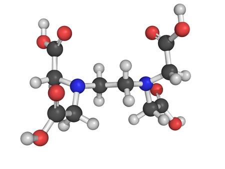 anticoagulant: Agente quelante EDTA para disolver bola molecular cal y modelo de palo
